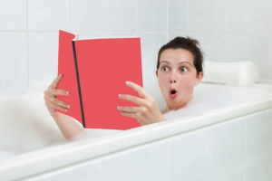 Frozen ready meals delivered to your door - A knock at the door while in the bath
