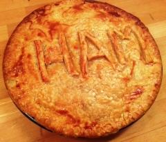 Ham hock pie